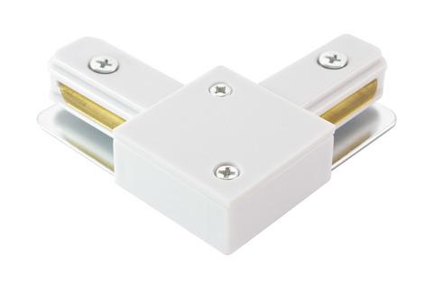 Коннектор L-образный для шинопровода TLC-01-WH-L, белый, TDM