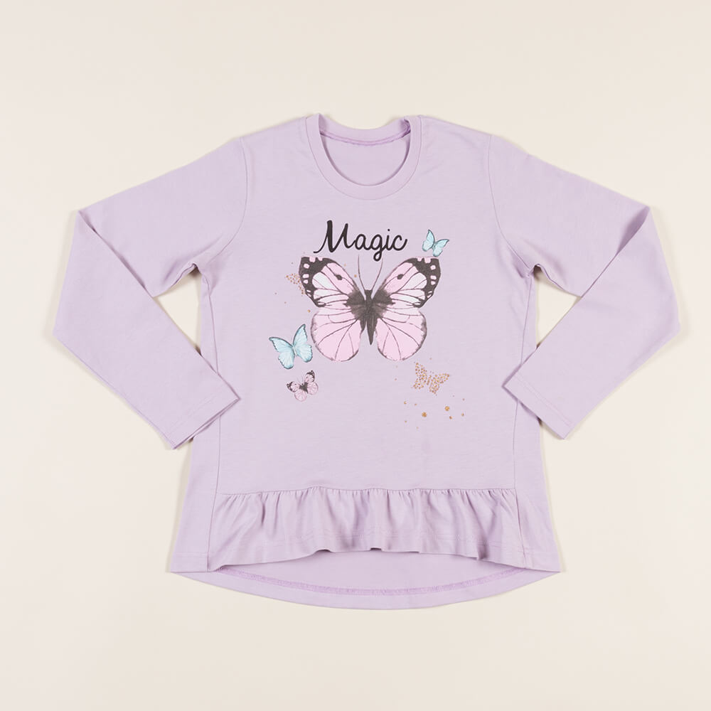 Детская женская футболка E20K-84N101