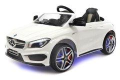 Детский электромобиль Мерседес Mercedes Benz CLA45 A777AA с пультом управления белый