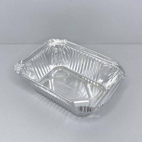 Контейнер прямоугольный из пищевой алюминиевой фольги SP24L