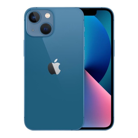 iPhone 13 mini, 128 ГБ, синий