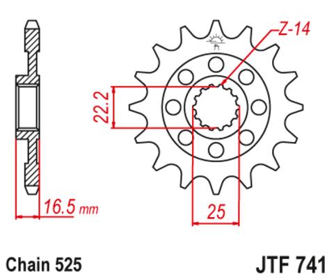 JTF741