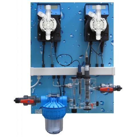 Авт.станция дозир и контр. POOL GUARD 3 (PH/CL) PANEL(SCL), 0-2 ppm /QPA6Q10327ER