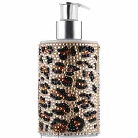 Vivian Gray Diamond Leopard In Gold Hand Soap - Рідке мило