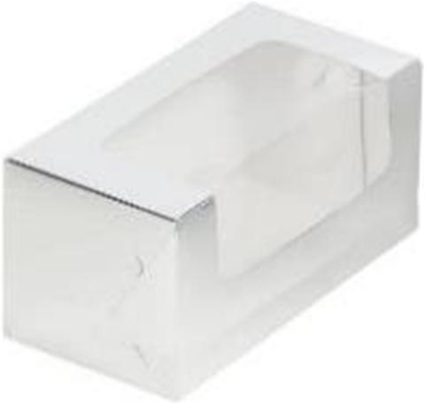 Коробка для кекса, 20*10*10см, (серебро)