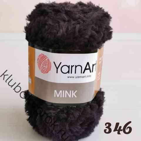YARNART MINK 346, Черный