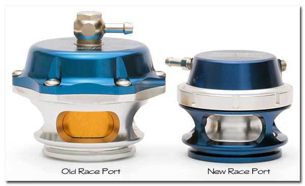 Сравнение версий блоу офф клапанов Turbosmart Race Port  50 mm