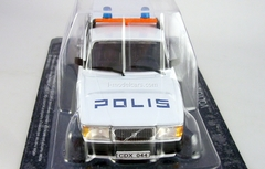 Volvo 240 Police Sweden 1:43 DeAgostini World's Police Car #56