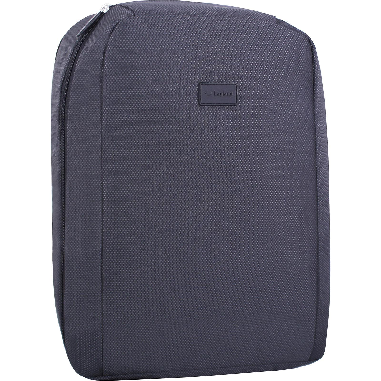 Мужские рюкзаки Рюкзак для ноутбука Bagland Joseph черный (00127169) IMG_3239.JPG