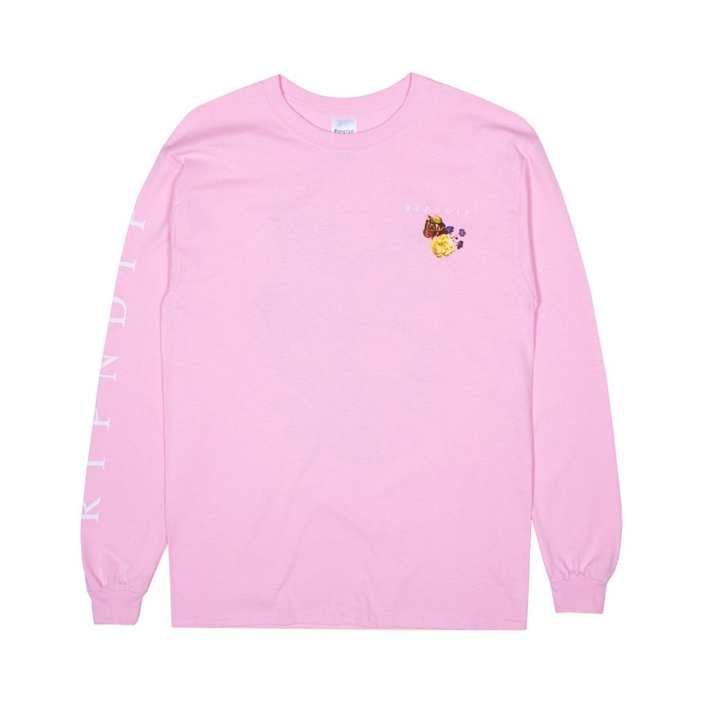 Лонгслив RIPNDIP Heavenly Bodies (Pink)