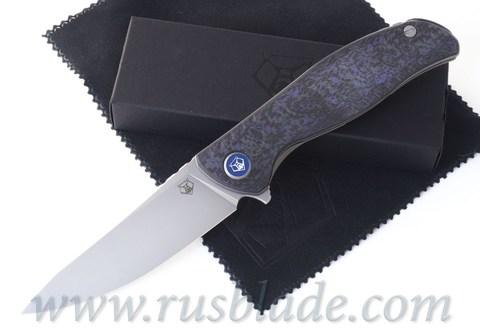 Shirogorov F3 NS M390 Purple Carbon Fiber