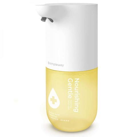 Дозатор сенсорный для жидкого мыла Xiaomi Simpleway Automatic Induction Washing machine, белый/желтый