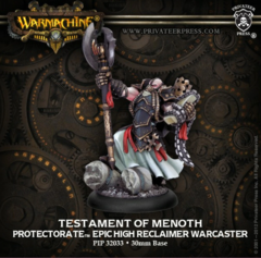 Testament of Menoth Epic Warcaster  BLI