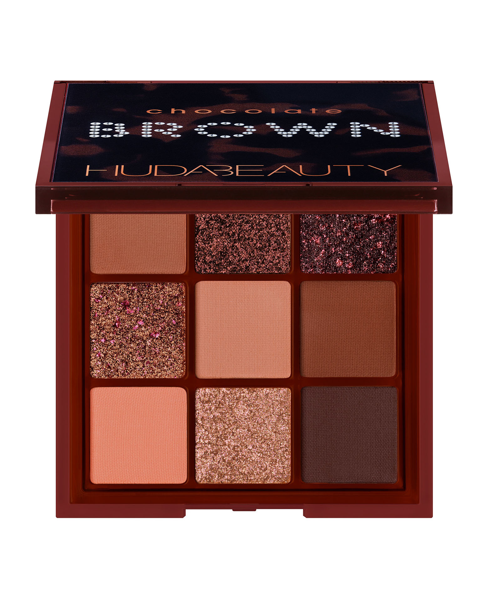 Huda Beauty Chocolate Brown Obsession palette