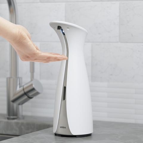 Диспенсер для мыла сенсорный Otto 255 мл бело-серый