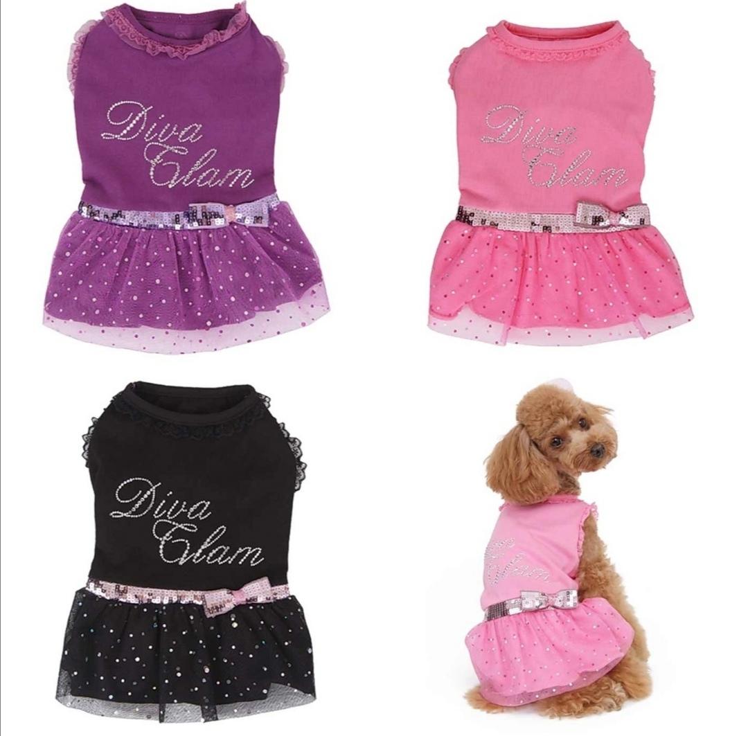 гламурные платья для собак