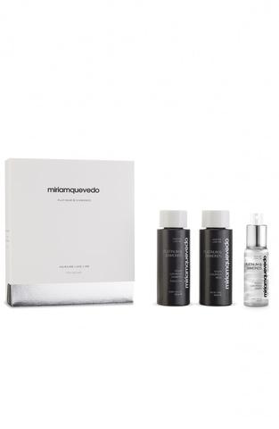 Набор-люкс для ультра объема и блеска / Miriamquevedo Platinum & Diamonds Global Rejuvenation Set