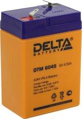 Аккумулятор DELTA 6V 4.5Ah
