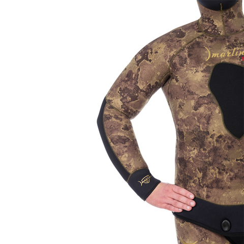 Гидрокостюм Marlin Skilur 2.0 Oliva 10 мм куртка – 88003332291 изображение 16