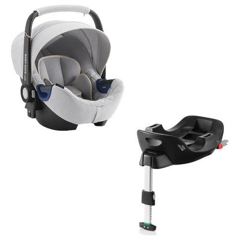 Автокресло Britax Roemer Baby-Safe2 i-Size Nordic Grey + Base Flex Isofix