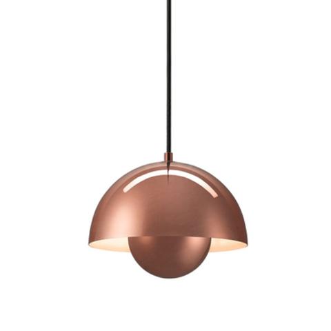 Подвесной светильник копия Flowerpot by Verpan Panton (бронзовый)
