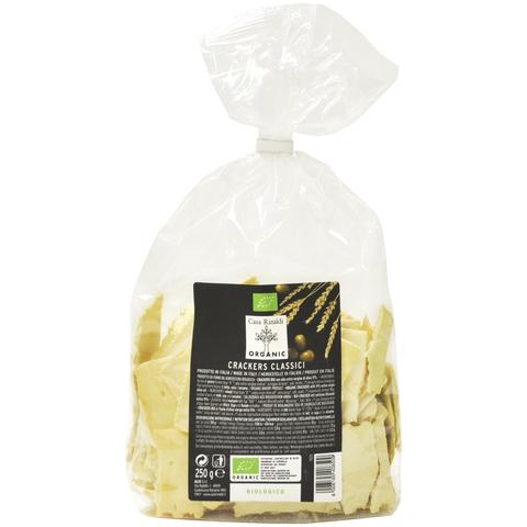 Хлебцы Крекеры c оливковым маслом EV ORGANIC Casa Rinaldi 250 г