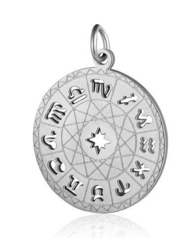 Подвеска Знаки зодиака из стали