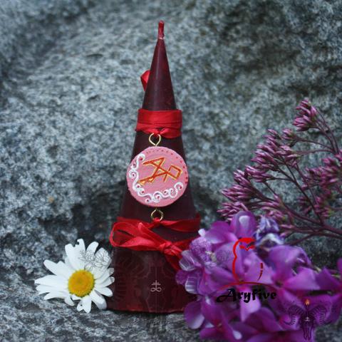 Свеча-ритуал «Пламя любви. На замужество»