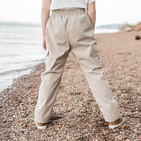 Demi-season membrane pants for teens - Beige