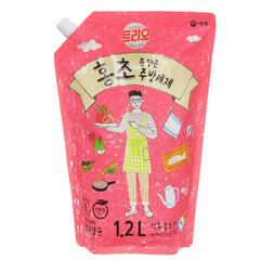Средство для мытья посуды Aekyung Trio Hongcho с фруктовыми кислотами натурального гранатового уксуса 1,2 л