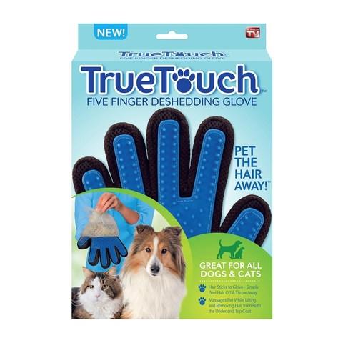 Перчатка для вычесывания шерсти домашних животных True Touch (Тру Тач)