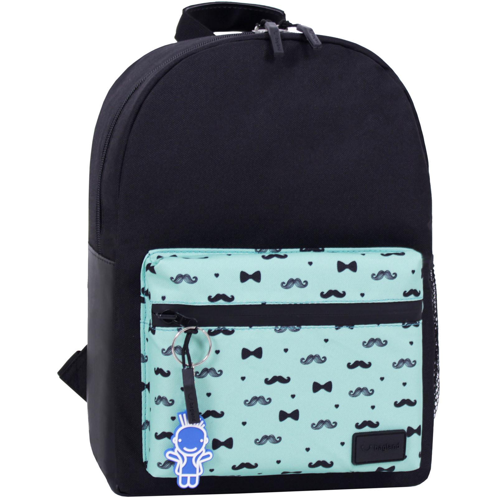 Молодежные рюкзаки Рюкзак Bagland  Frost 13 л. черный сублимация 443 (00540663) IMG_4380_суб.443_.JPG