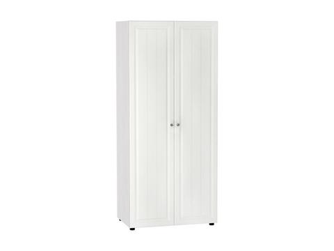 Шкаф двухстворчатый Прага ШК-722 платяной Браво Мебель ясень анкор, белый
