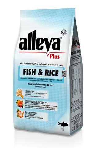 Сухой корм Alleva Plus Gluten Free Fish & Rice
