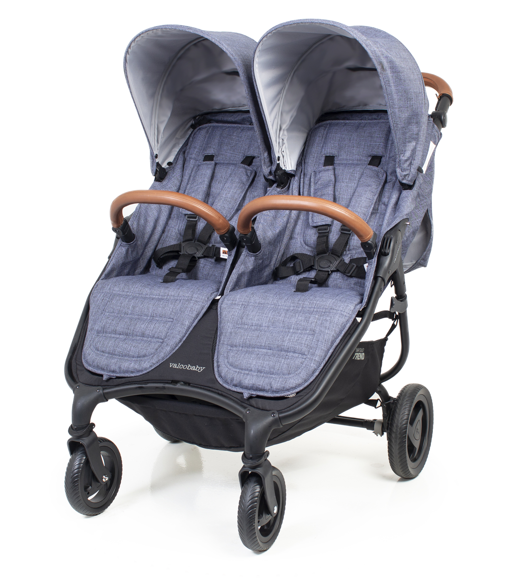 Коляска для двойни Valco baby Snap Duo Trend / Charcoal