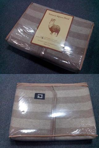 Одеяло INCALPACA Перу  из шерсти альпаки OA-1