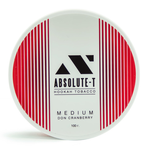 Табак Absolute-T Med 100гр Don Cranberry