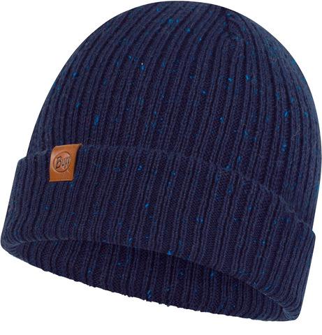 Вязаная шапка Buff Hat Knitted Kort Night Blue фото 1