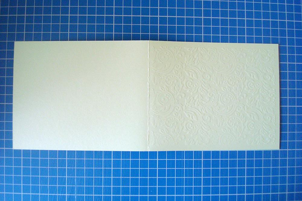 Заготовка для открытки «Узоры» 12х15 см, мятный