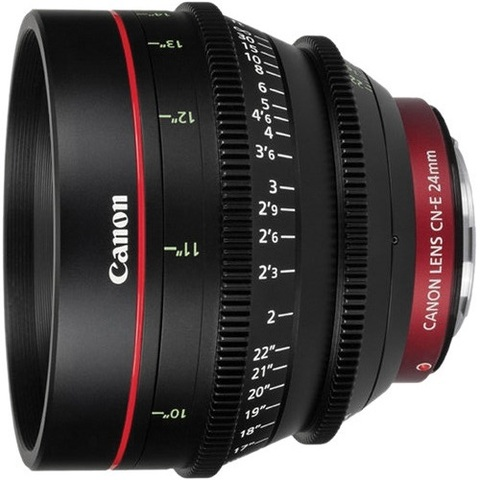 Объектив Canon CN-E 24mm T1.5 L F Black для Canon