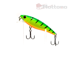 Воблер Mottomo Bang Minnow 65F 6,3g Lime Tiger