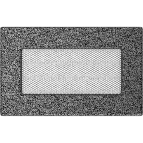 Вентиляционная решетка Черная/Серебро (11*17) 117CS