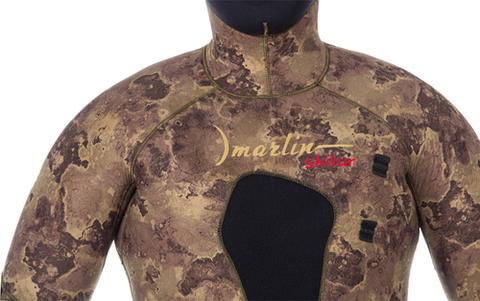 Гидрокостюм Marlin Skilur 2.0 Oliva 10 мм куртка – 88003332291 изображение 18