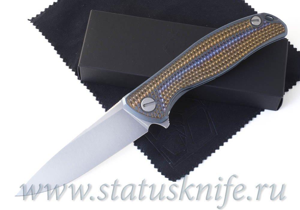 Нож Широгоров Флиппер 95 Горыныч S30V подшипник анодирование