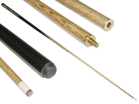 Кий бильярдный складной для русского бильярда. Длина 161 см: 12 мм/1612-2С