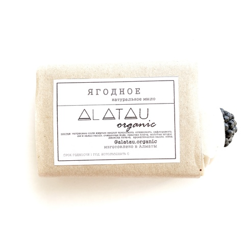 Мыло Ягодное (Alatau Organic)