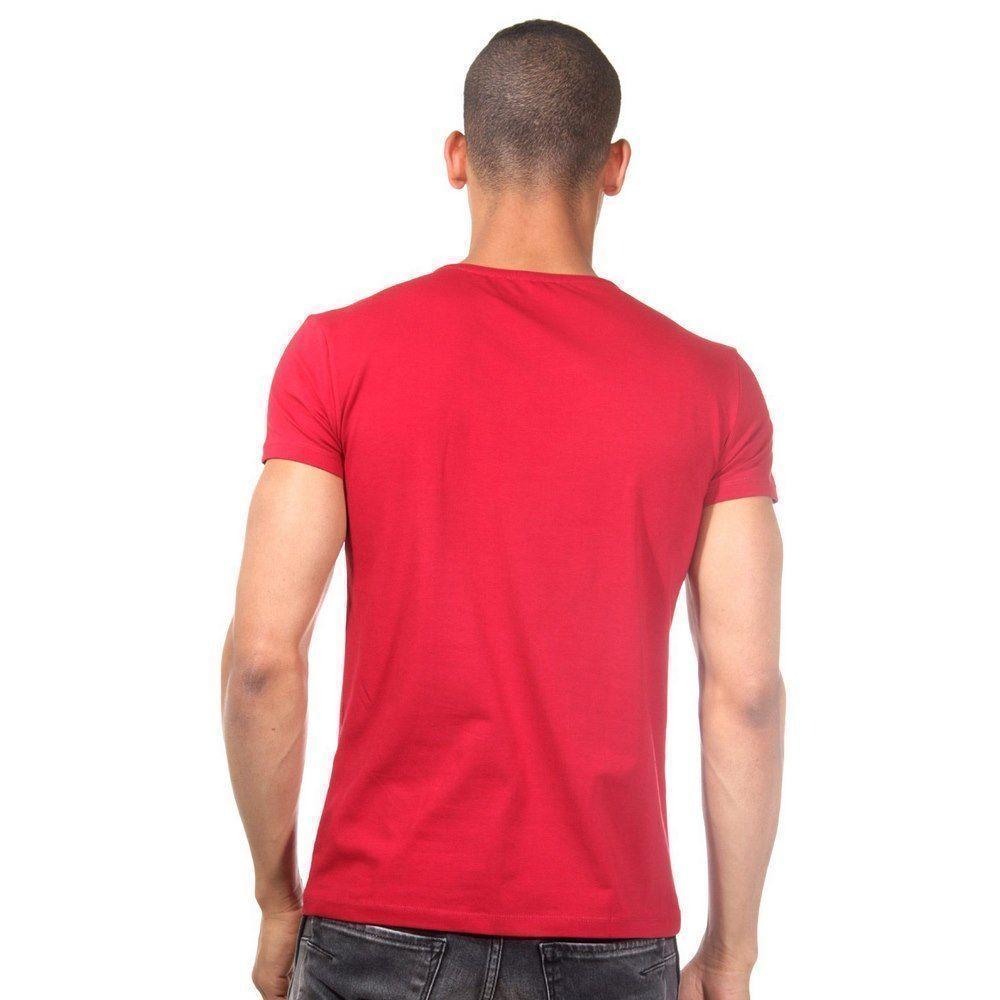 Футболка мужская бордовая DARKZONE DZN8506