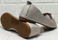 Балетки туфли женские на низком ходу. Летние туфли балетки с острым носком Wollen Vision.