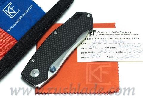 CKF MKAD Black Farko knife (M390, Ti, bearings)