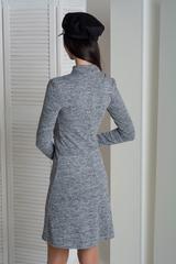 Ріка. Стильне молодіжне плаття. Меланж